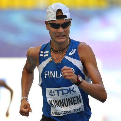 Jarkko Kinnunen slutade på 20:e plats vid VM i Moskva.