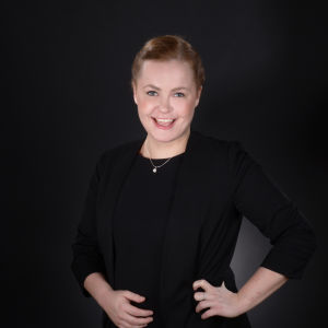 Helleke Heikkinen, aktiv i studentkören Lyran. 2016.
