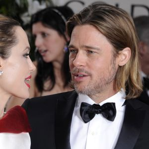 angelina jolie och brad pitt på golden globe awards
