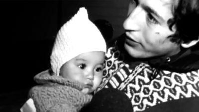 Chilensk man har anlänt till Sjöskog, 1973