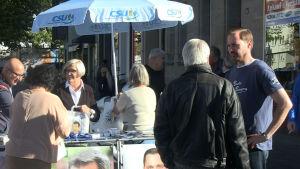 Valkampanj i  Nürnberg