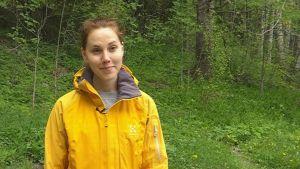 Johanna Rosenberg, hälsovårdare för vuxenrådgivningen i Sibbo