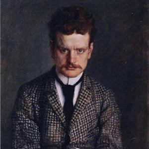 Sibelius målad av Eero Järnefelt.