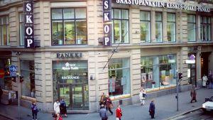 Säästöpankkien Keskus-Osake-Pankki (SKOP) Aleksanterinkadulla Helsingissä