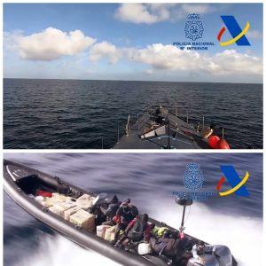 Misstänkt narkotikasmuggling på Medelhavet.