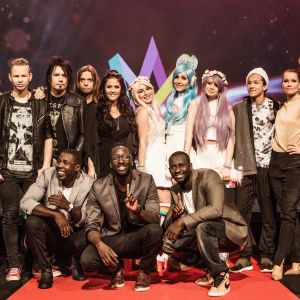 Alla deltagare i Melodifestivalen 2016:s fjärde deltävling.