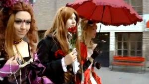 Cosplayaajia Animecon VII -tapahtumassa (2009).
