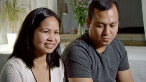 Anna och Dennis Pinar kämpade länge för sin familjeåterförening