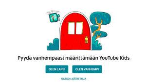 Kuvakaappaus Youtube Kidsistä