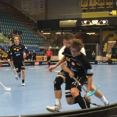 Welhojen pelaajia liigaottelussa Happeeta vastaan syyskuussa 2019.