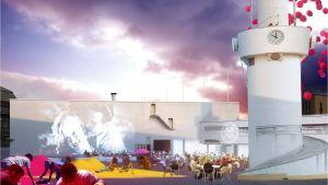 Amos Anderssonin uusi taidemuseo tulee maan alle