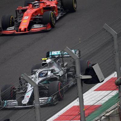 Valtteri Bottas Sebastian Vettel