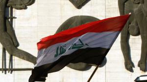 Den irakiska flaggan