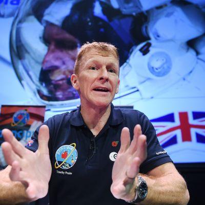 Astronautti Tim Peake.