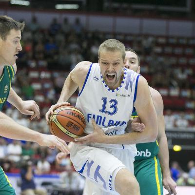 Hanno Möttölä spelade många år i landslaget.