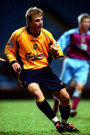 Daniel Sjölund var officiellt Liverpool-spelare åren 2000-2003.