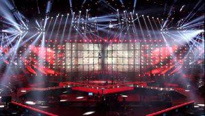 Eurovision scen.