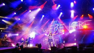 Nightwish Joensuun Laulurinteellä kesäkuussa 2015