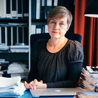 Juulia Kauste, direktör vid Arkitekturmuseet