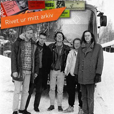 Good Evening Manchester och turnébussen.