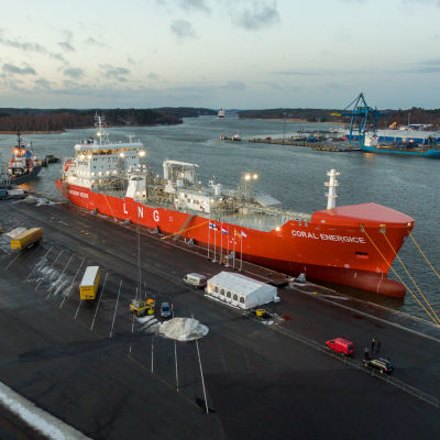 LNG-tankern Coral EnergICE