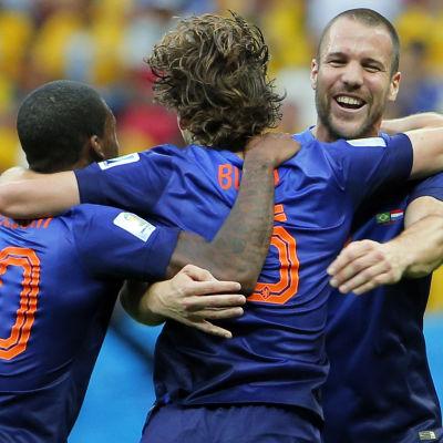 Holland vann bronset enkelt!