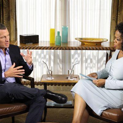 Lance Armstrong hos Oprah Winfrey, januari 2013