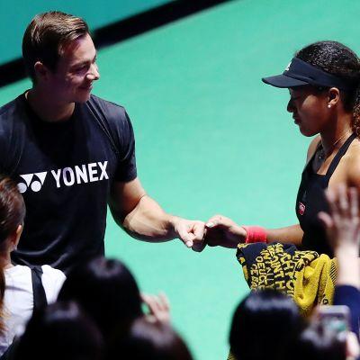 Naomi Osaka ja Sascha Bajin