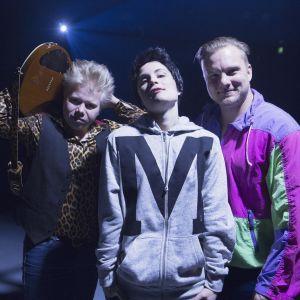 Anton Äikäs, Anna-Elisa Hannula, Severi Saarinen