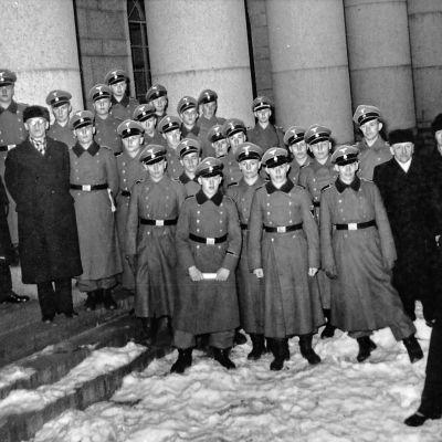 Frivilliga finländare i Waffen-SS.