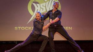 Peter Csaszti och Johan Björk uppträder med parsalsa