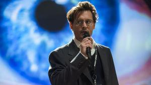 Johnny Depp i filmen Transcendence