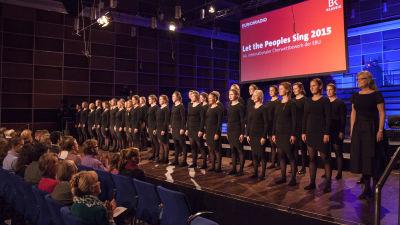 Århus Pigekor, Let the Peoples Sing -kilpailun voittaja 2015