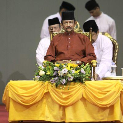 Den enväldige sultanen av Brunei återtog delvis sitt beslut om dödsstraff för homosexualitet i ett sällsynt offentligt uttalande