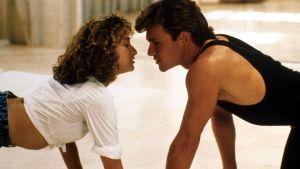 Jennifer Grey och Patrick Swayze i filmen Dirty Dancing