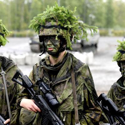 Stridsuppvisning i samband med totalsäkerhetsmässa i Tammerfors sept 2015
