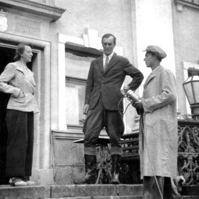 Ernst von Born intervjuas av Görand Schildt