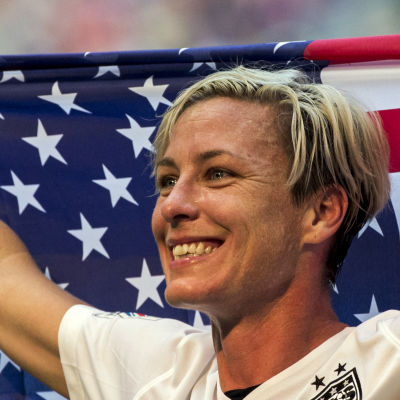 Abby Wambach avslutade sin fotbollskarriär med VM-guld i somras.