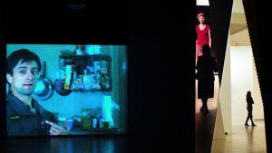 Taxi Driver-filmen på utställningen Images in motion.