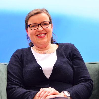 """Ann-Britt Bonns är rektor för """"nya"""" Norsen då grundskolornas årksurser 7-9 i Norsen och Lönkan slås ihop."""