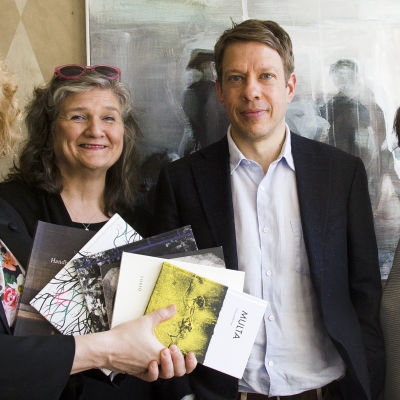 Minna Joenniemi, Erja Manto, Fredrik Hertzberg ja Marit Lindqvist