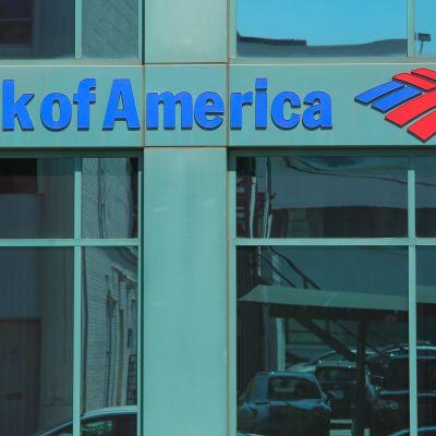 Bank of Americas logo.