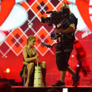 Polen kärnar smör på Eurovisionsscenen.