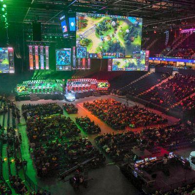 Dota 2 turnaus e-urheilu elektroninen urheilu ESL Berliini Hampuri