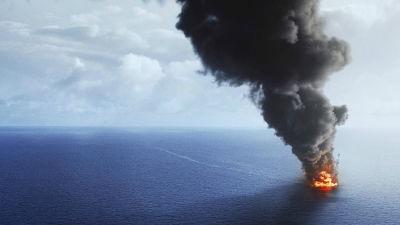Orkanen katrina hotar oljeplattformar