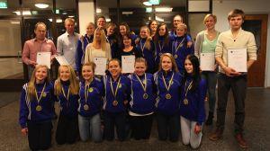 Årets idrottspris delades ut i Hangö.