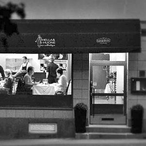 Arto Rastaan ensimmäinen oma ravintola Hella ja huone, katunäkymä.