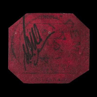 Sällsynt frimärke såldes för rekordpris i New York
