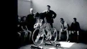 Polkupyöräilijä v. 1946