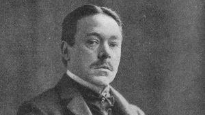 Porträtt av Hjalmar Söderberg från början av 1900-talet.